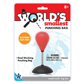World's Smallest Punching Bag