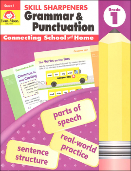Skill Sharpeners: Grammar & Punctuation - Grade 1