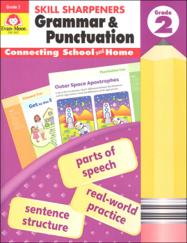 Skill Sharpeners: Grammar & Punctuation - Grade 2