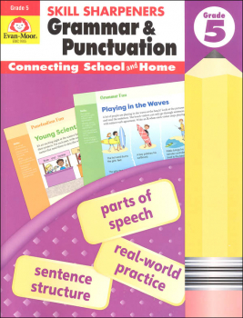 Skill Sharpeners: Grammar & Punctuation - Grade 5