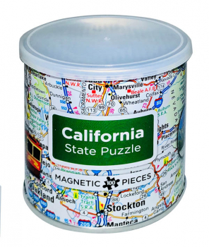 California Magnetic Puzzle (100 Piece)