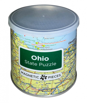 Ohio Magnetic Puzzle (100 Piece)