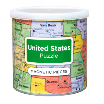 US Magnetic Puzzle (100 Piece)