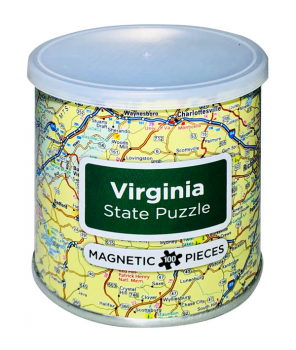 Virginia Magnetic Puzzle (100 Piece)