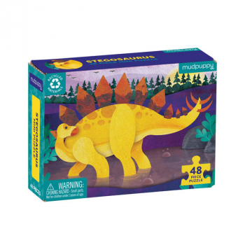 Stegosaurus Mini Puzzle (48 pieces)