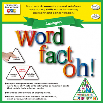 Word Fact-Oh! Analogies