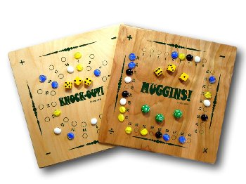 "Muggins / Knock-Out Game (Revised 1/4"" Thin)"