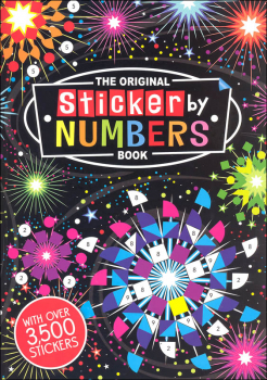 Original Sticker By Numbers Book