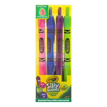 Crayola Silly Scents Smens Set of 4