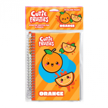 Cutie Fruities Sketch & Sniff Sketch Pad - Orange