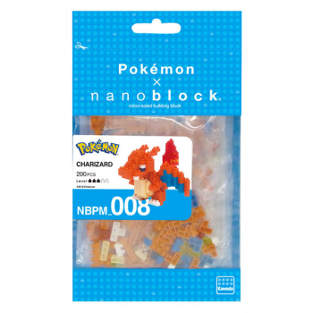 Nanoblock - Charizard Pokemon