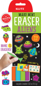 Make Mini Eraser - Aliens