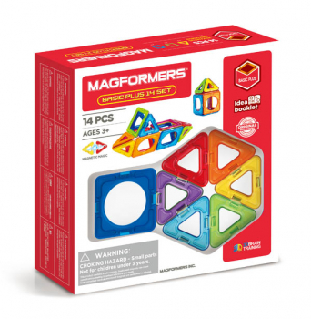 Magformers - Basic Plus 14 Piece Set (Inner Circle)