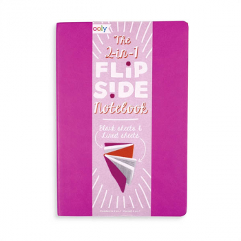 2-in-1 Flipside Notebook - Hot Pink