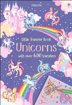 Little Transfer Book - Unicorns
