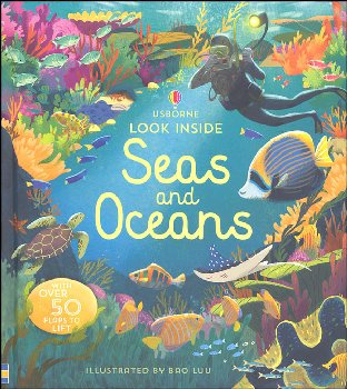 Look Inside Seas and Oceans (Usborne)