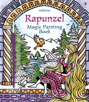 Rapunzel Magic Painting Book
