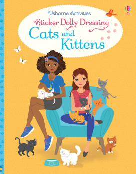 Sticker Dolly Dressing - Cats and Kittens (Usborne)