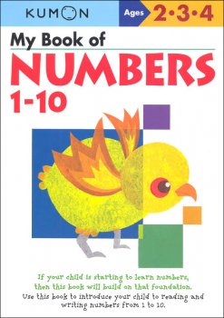 My Book of Numbers 1-10