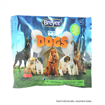 Breyer Pocket Box Dog - assorted style