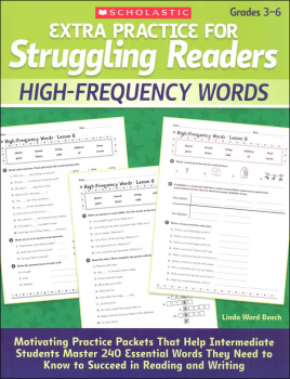Extra Practice for Struggling Readers - High-Frequency Words