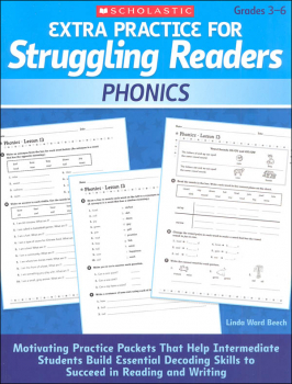 Extra Practice for Struggling Readers - Phonics