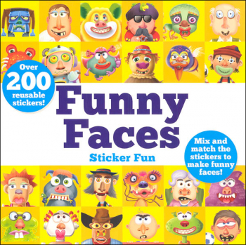 Funny Faces Sticker Fun