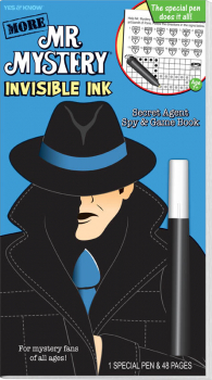 More Mr. Mystery Invisible Ink