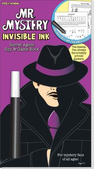 Mr. Mystery Invisible Ink