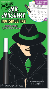 Return of Mr. Mystery Invisible Ink