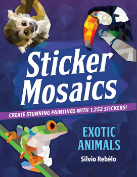 Sticker Mosaics: Exotic Animals