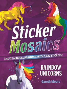 Sticker Mosaics: Rainbow Unicorns