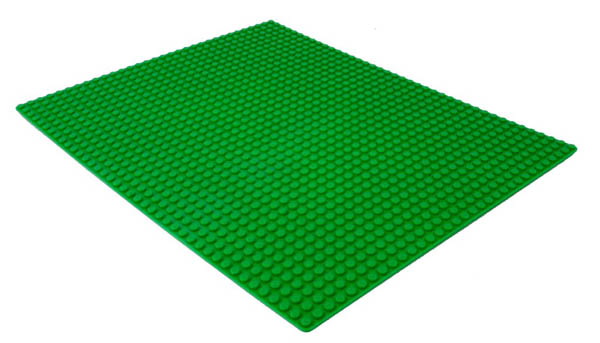 Block Plate - Rectangle (Green)