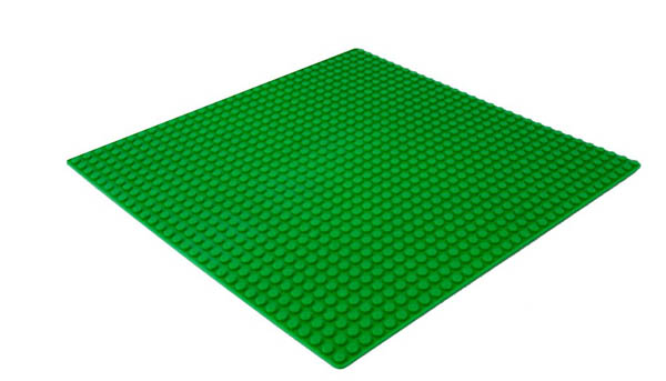 Block Plate - Square (Green)