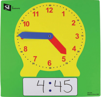 Dry Erase Clock - Demo