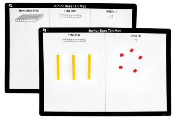 Junior Base Ten Mat (set of 10)
