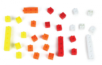 Place Value Hex-a-Link Cubes (set of 40)