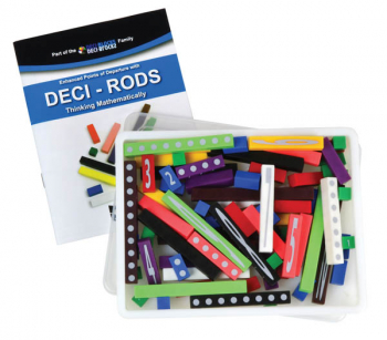 Printed Deci-Rods with Teachers Guide in Container