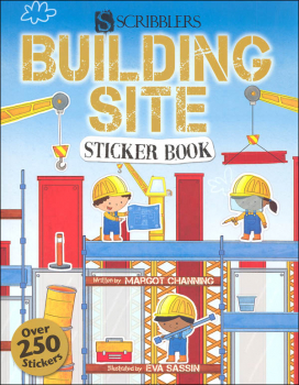Building Site Sticker Book (Scribblers Fun Activity)