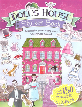 Dolls' House Sticker Book (Scribblers Fun Activity)