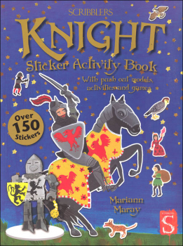 Knight Sticker Activity Book (Scribblers Fun Activity)