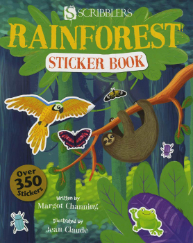 Rainforest Sticker Book (Scribblers Fun Activity)