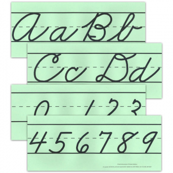 Large Cursive Alphabet Set (no pictures)