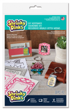 Shrinky Dinks DIY Keepsakes