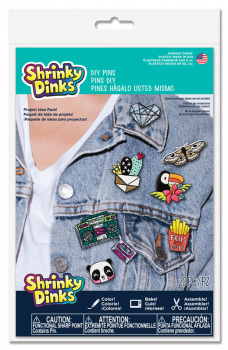 Shrinky Dinks DIY Pins