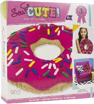 Sew Cute Felt Pillow Kit - Donut