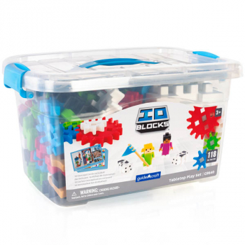 IO Blocks Tabletop System - 118 piece set