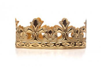 Gold Prince Soft Crown