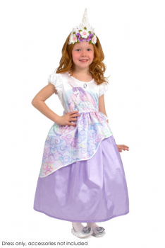 Unicorn Princess Dress - Large