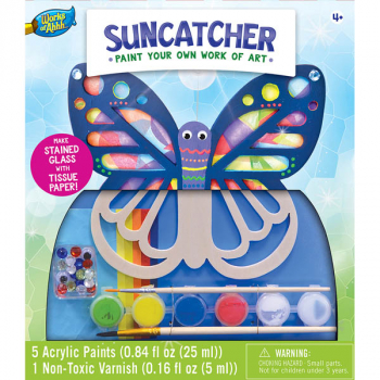 Paint Your Own Suncatcher Classic Wood Paint Kit